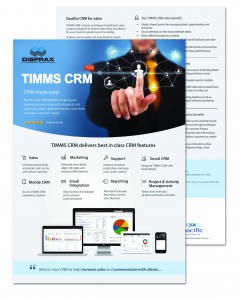 Disprax TIMMS CRM